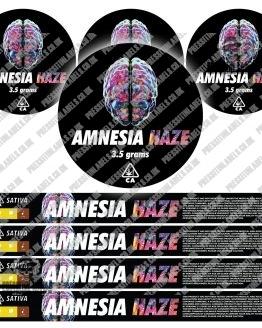 Amnesia Haze Pressitin Labels