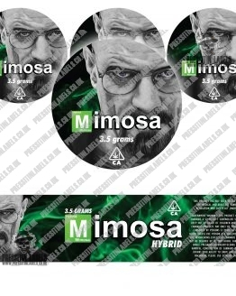 Mimosa Breaking Bad Jar Labels