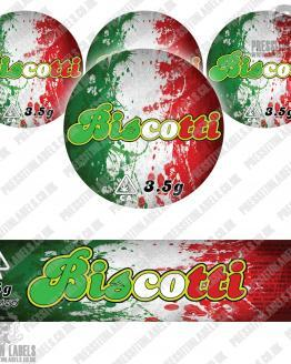 Biscotti Jar Labels