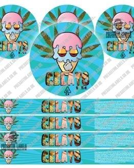 Gelato Pressitin Labels