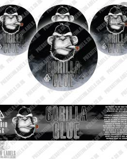 Gorilla Glue Jar Labels