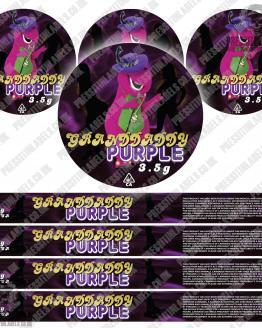 Grandaddy Purple Pressitin Labels