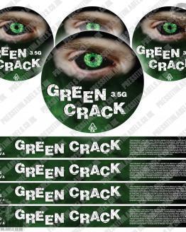 Green Crack Pressitin Labels