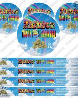 Zkittlez Pressitin Labels Type 2
