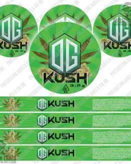 OG Kush Pressitin labels