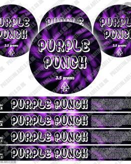 Purple Punch Pressitin Labels