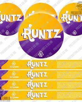Runtz Pressitin Labels