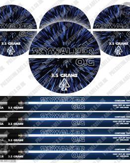 Skywalker OG Pressitin Labels