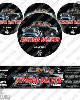 Sundae Driver Jar Labels