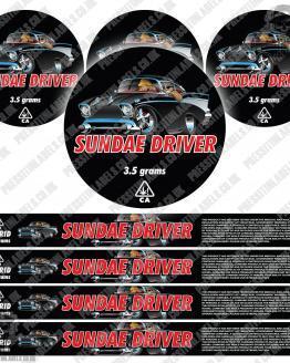 Sundae Driver Pressitin Labels