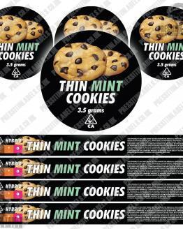 Thin Mint Cookies Pressitin Labels