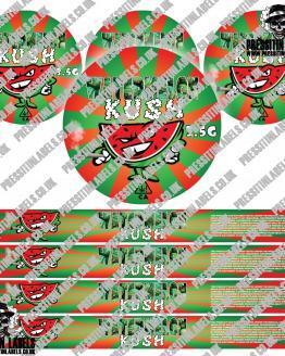 Watermelon Kush Pressitin Labels