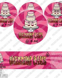 Wedding Cake Jar Labels Type 2