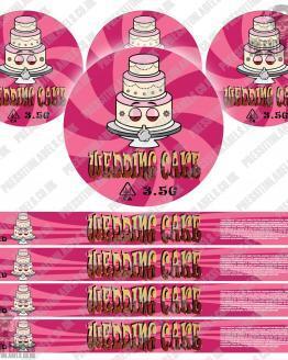 Wedding Cake Pressitin labels Type2