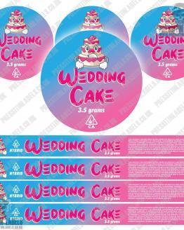 Wedding Cake Pressitin Labels