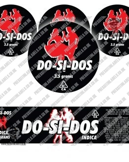Dosidos Jar Labels