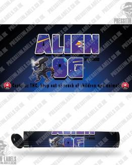 Alien OG Pre Roll Labels