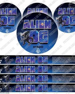 Alien OG Pressitin Labels