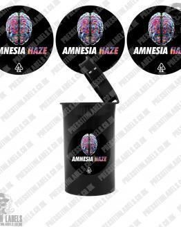 Amnezia Haze Pop Top Stickers