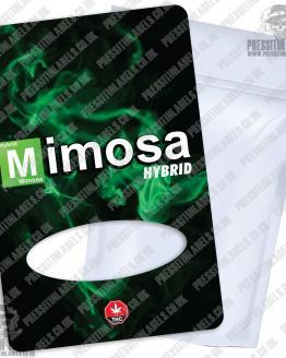 Mimosa BB Mylar Bag Labels
