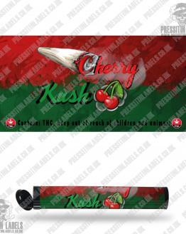 Cherry Kush Pre Roll Labels