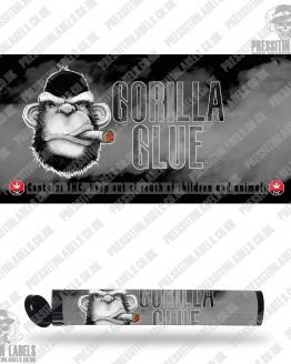 Gorilla Glue Type 2 Pre Roll Labels
