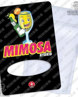 Mimosa Mylar Bag Labels