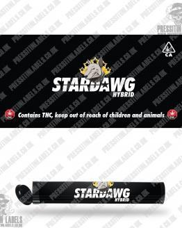 Stardawg Pre Roll Labels