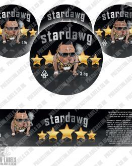 Stardawg Jar Labels