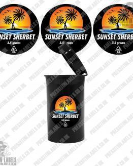 Sunset Sherbet Cali Pop Top Slaps