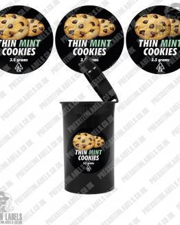 Thin Mint Cookies Cali Pop Top Slaps