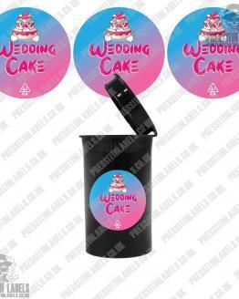 Wedding Cake Cali Pop Top Slaps