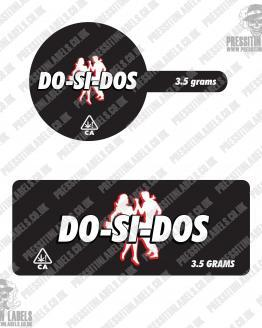 Dosidos Tamper Proof Jar Labels