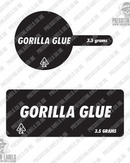Gorilla Glue Tamper Proof Jar Labels