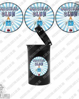 Original Glue Cali Pop Top Labels