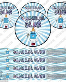 Original Glue Pressitin Labels