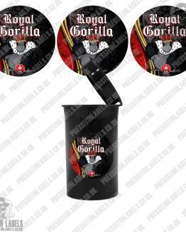 Royal Gorilla Cali Pop Top Labels