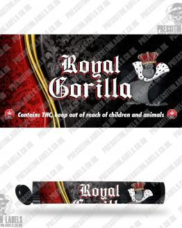 Royal Gorilla Pre Roll Labels