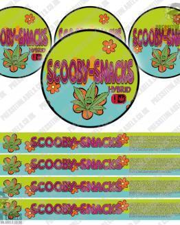 Scooby Snacks Pressitin Labels