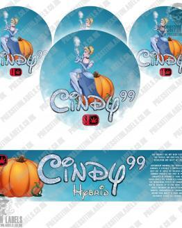 Cindy 99 Jar Labels
