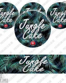 Jungle Cake Jar Labels