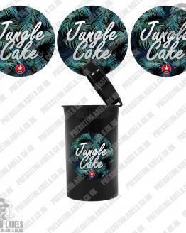 Jungle Cake Cali Pop Top Labels