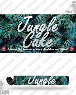 Jungle Cake Pre Roll Labels