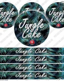 Jungle Cake Pressitin Labels