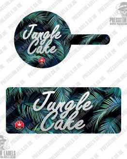 Jungle Kush Tamper Proof Jar Labels