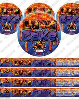 Lava Cake Pressitin Labels