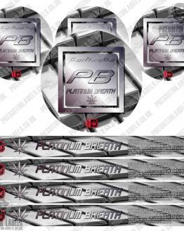 Platinum Breath Pressitin Labels