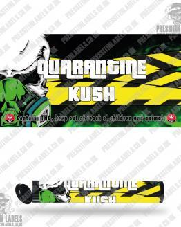 Quarantine Kush Type 2 Pre Roll Labels