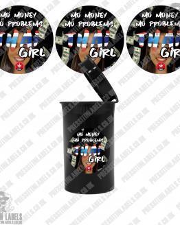 Thai Girl Cali Pop Top Labels