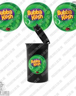 Bubba Kush Type 2 Cali Pop Top Labels